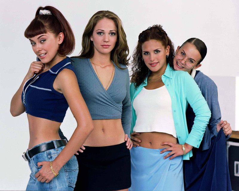 Soñadoras, Aracely Arámbula, Michelle Vieth, Angélica Vale, Laisha Wilkins