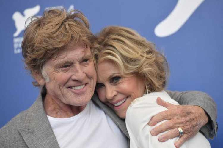 Jane Fonda y Robert Redford (AFP)