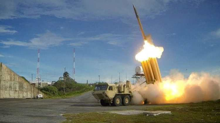 El sistema THAAD ya fue probado en Corea del Sur