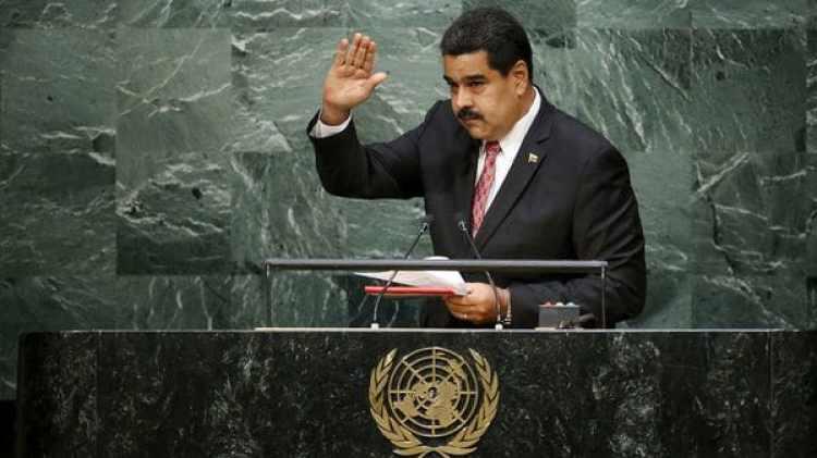 Nicolás Maduro en la Asamblea General de la ONU en 2015 (Reuters)