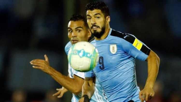 Luis Suárez es el goleador uruguayo, pero no está al 100% físicamente (Reuters)