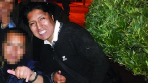 El estudiente universitario Édgar Moya Méndez, quien fue asesinado en la avenida Arce. Foto: Facebook