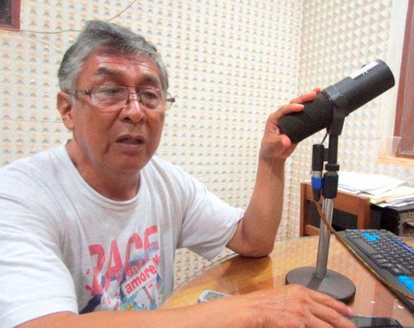 MÁS DE 300 MEDIOS DE COMUNICACIÓN DEJARÁN DE OPERAR EN EL PAÍS. CARLOS ARCE, RESPONSABLE DE RADIO SAN MIGUEL EN RIBERALTA, BOLIVIA.