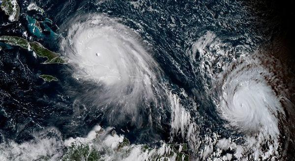 Primeras bandas de lluvias de Irma se sienten en Miami