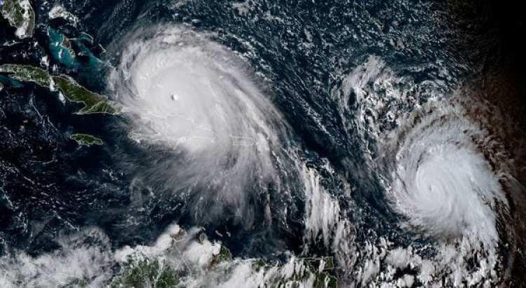 Los huracanes Irma y José. El segundo ciclón, ya de categoría 4, sigue la ruta del primero