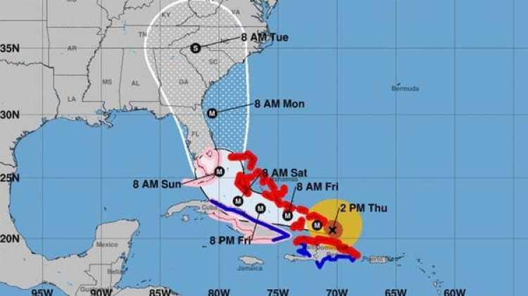 Pronóstico del Huracán Irma. Boletín de las 14 pm – jueves 7