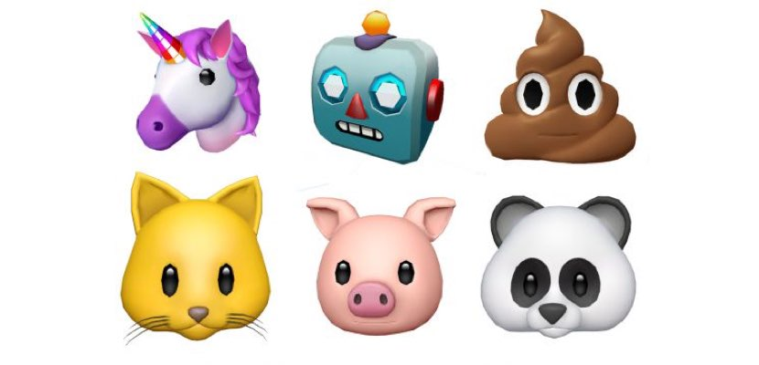 nuevos animojis iOS 11 GM