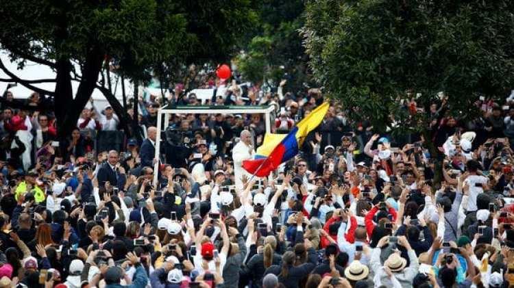 No hubo incidentes de seguridad, pero la amplia asistencia provocó atascos (Reuters)