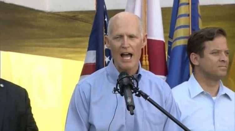 Rick Scott, gobernador de Florida