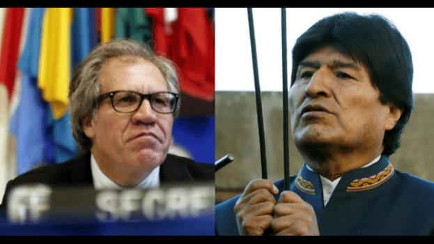 Almagro viola principios democráticos y del Derecho Internacional — Morales