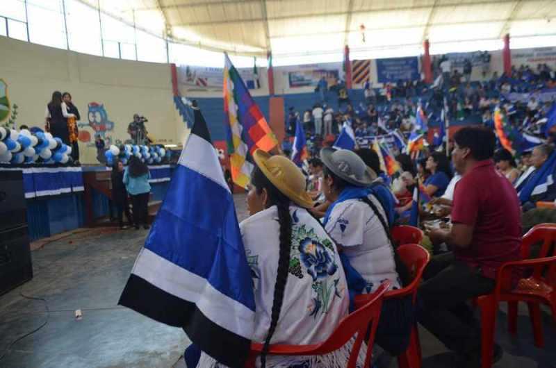 Campesinos quieren tomar la posta del MAS en Tarija
