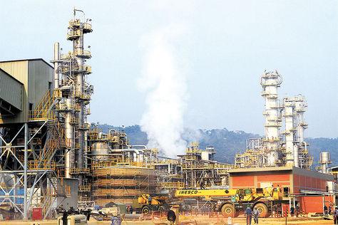 Complejo. La Planta de Amoníaco y Urea, ubicada en Bulo Bulo, provincia Carrasco de Cochabamba, será inaugurada mañana por el presidente Evo Morales.