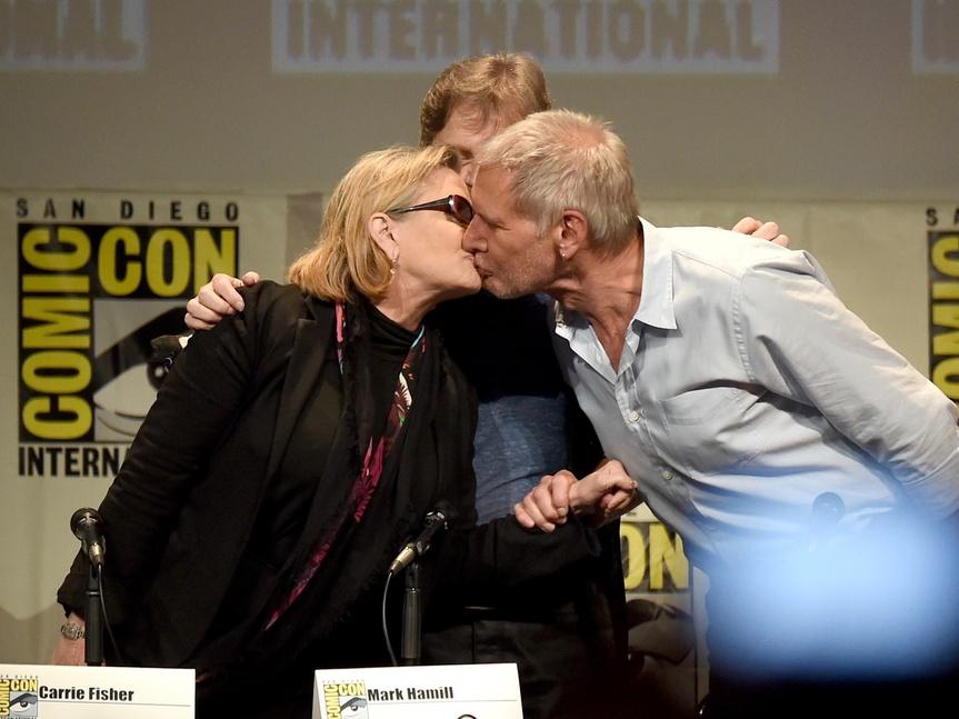 Harrison Ford rompe el silencio sobre Carrie Fisher