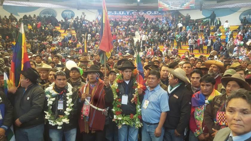 Resultado de imagen de Federación Sindical de Trabajadores Campesinos Originario Grover Mamani,