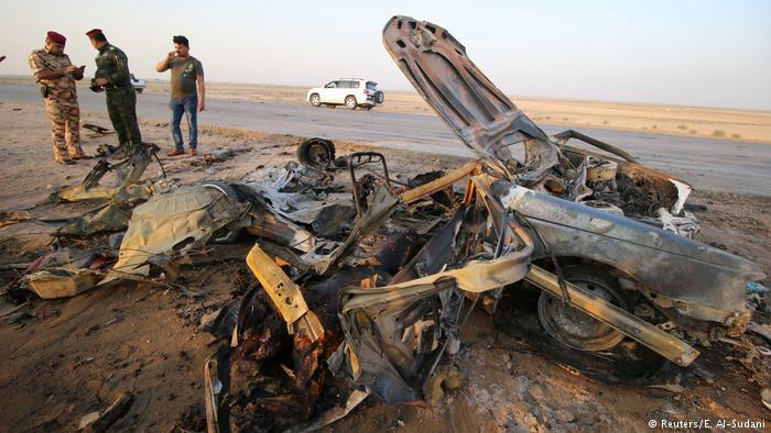Atentado cerca de Nassirijah, sur de Irak