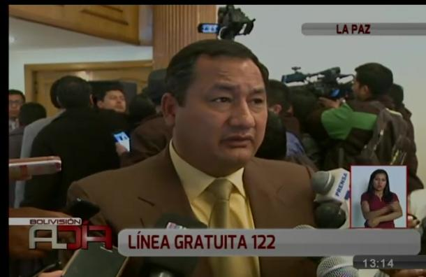 Viceministerio de Seguridad Ciudadana promueve línea gratuita 122