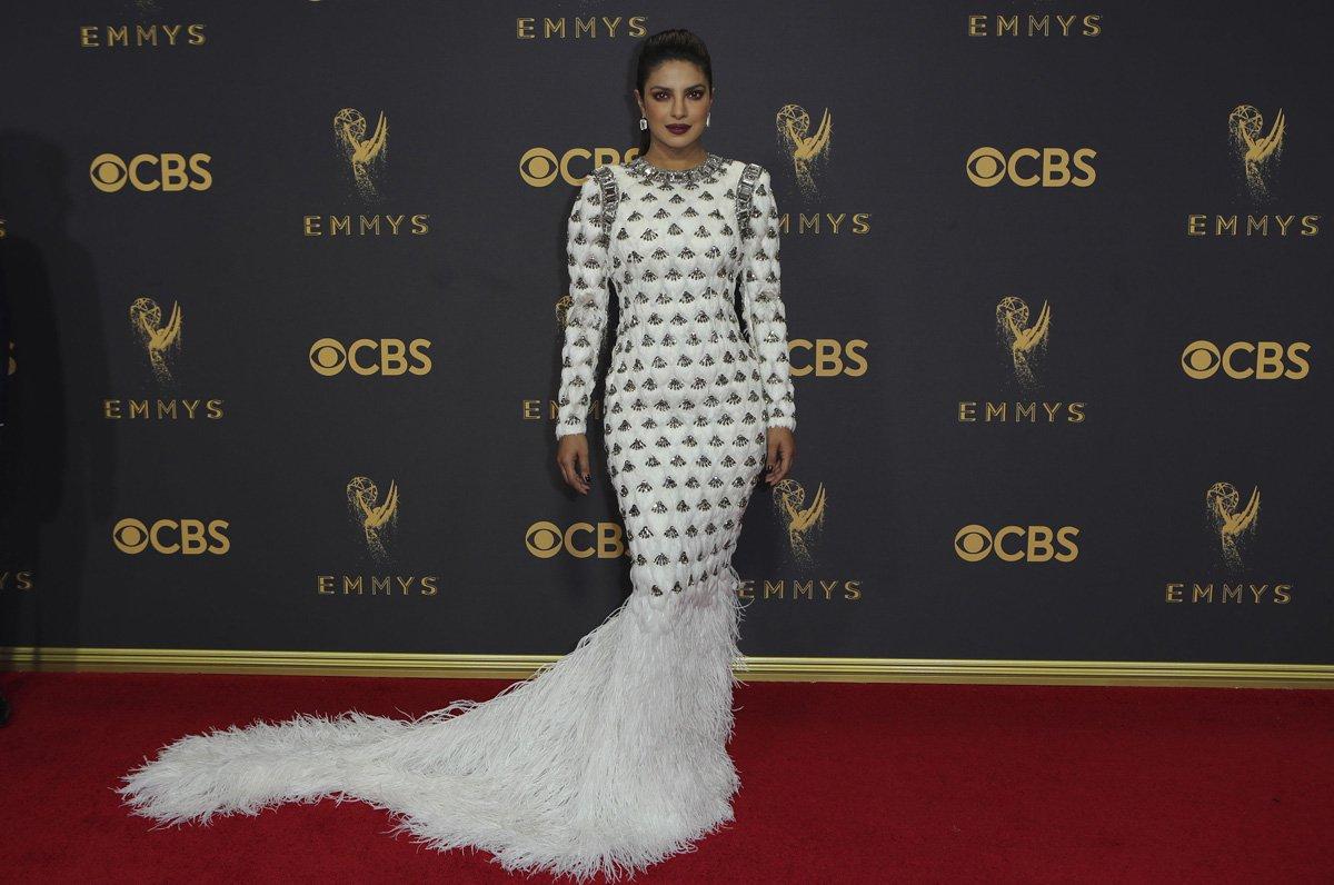 69th Primetime Emmy Awards – Arrivals – Los Angeles, California, U.S., 17/09/2017 - Priyanka Chopra. REUTERS/Mike Blake