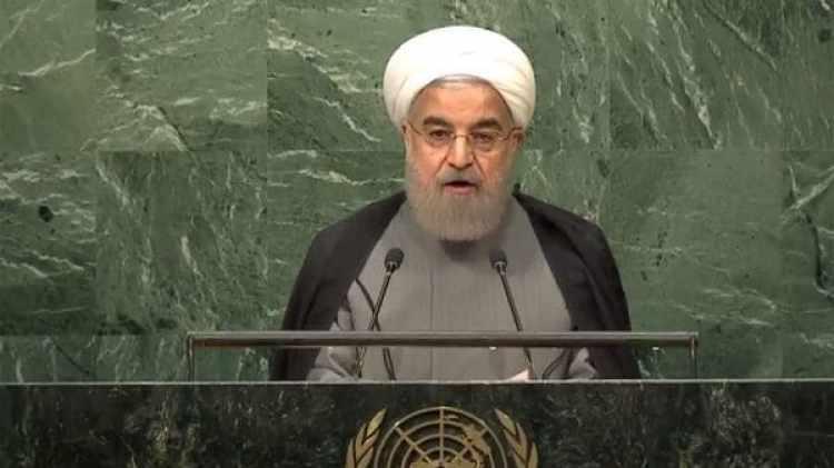 Hasan Rohani en la Asamblea General de la ONU.