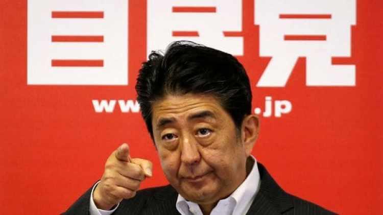 El Primer Ministro Japonés, Shinzo Abe (Reuters)