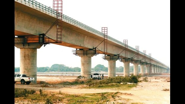 Gobierno entrega el puente más largo de Bolivia — Santa Cruz