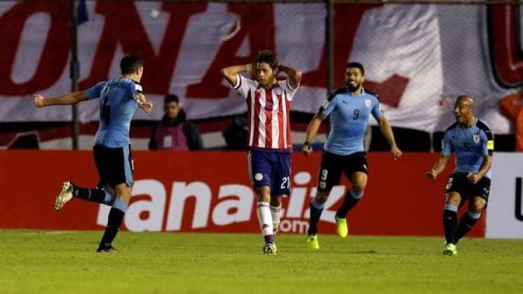 La derrota con Uruguay dificulta la clasificación de Paraguay