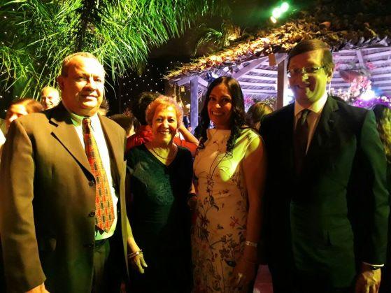 Wilson Andrade, Diana Bendeck, Ojdana de Ortiz y Oscar Ortiz