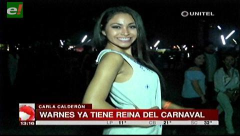 Carla Calderón reina del carnaval de Warnes 2018
