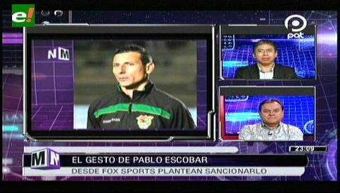 Chile vs. Bolivia: Futbolista boliviano enfureció a los chilenos con obsceno gesto