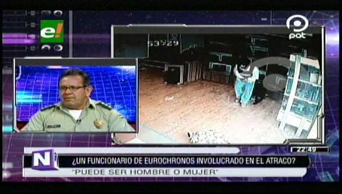 Felcc: Nuevos vídeos del atraco a Eurochronos buscan desprestigiar el accionar policial