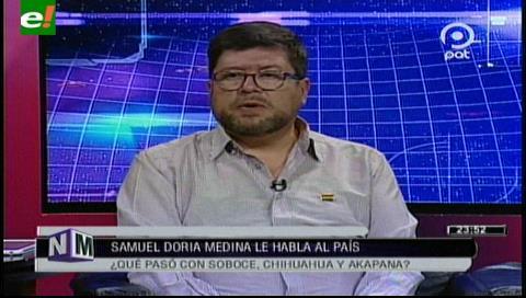 """Doria Medina: """"Es falso que el tema de la venta de acciones de Soboce sea por algo impositivo"""""""