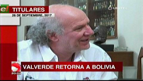 Video titulares de noticias de TV – Bolivia, noche del martes 26 de septiembre de 2017