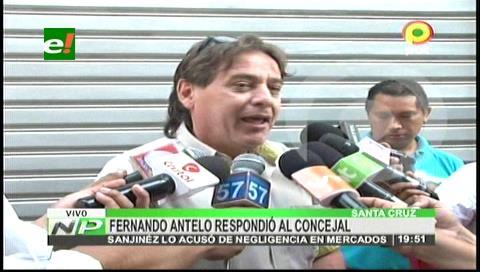 Antelo responde a concejal Sanjinéz: Seguiré trabajando y no renunciaré