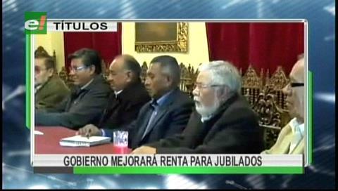 Video titulares de noticias de TV – Bolivia, mediodía del jueves 7 de septiembre de 2017