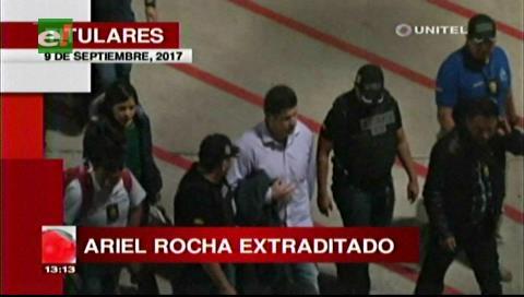 Video titulares de noticias de TV – Bolivia, mediodía del sábado 9 de septiembre de 2017
