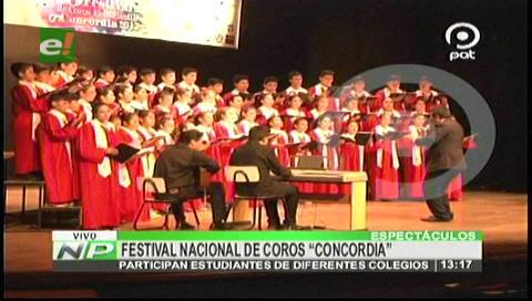 """Un éxito el XXV Festival Nacional de Coros """"Concordia"""""""
