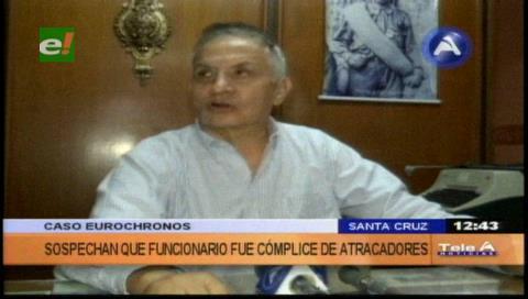 """Abogado Suárez: """"Da la impresión que la Policía quiere intimidar a Eurochronos"""""""