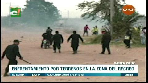 Desalojo en el barrio El Recreo: Vecinos se enfrentan a policías