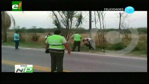 Encuentran el cadáver de un hombre en la carretera Santa Cruz–Puerto Suárez
