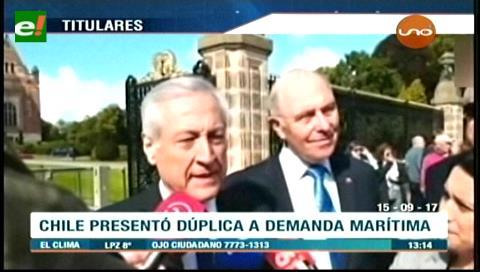 Video titulares de noticias de TV – Bolivia, mediodía del viernes 15 de septiembre de 2017