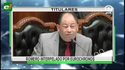 Video titulares de noticias de TV – Bolivia, noche del viernes 15 de septiembre de 2017