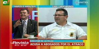 Eurochronos: Colegio de Abogados pide proceso administrativo contra el director de la Felcc