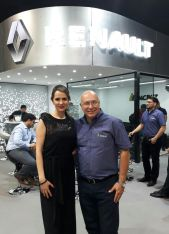 Monica argandoña y Gabriel Davalos