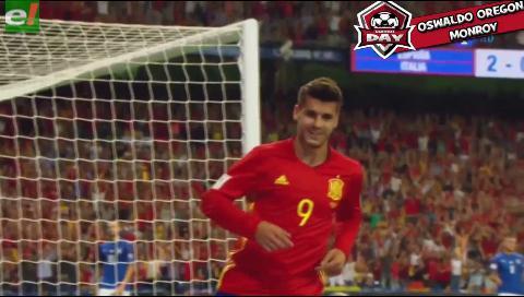 Morata: 'En el Madrid nunca jugué 5 partidos seguidos'