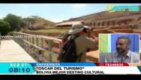 Bolivia obtuvo el premio de mejor destino cultural de Sudamérica