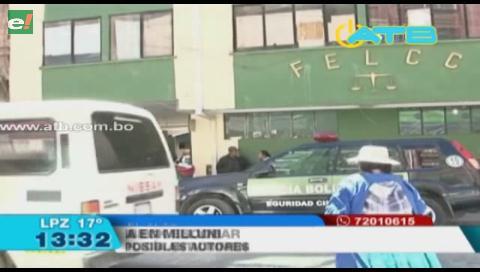 4 sujetos armados ingresaron a robar a una casa en El Alto