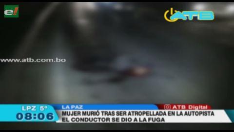 Mujer murió tras ser atropellada por un camión de alto tonelaje