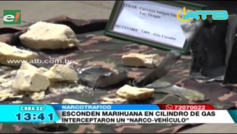 La FELCN interceptó un narco vehículo