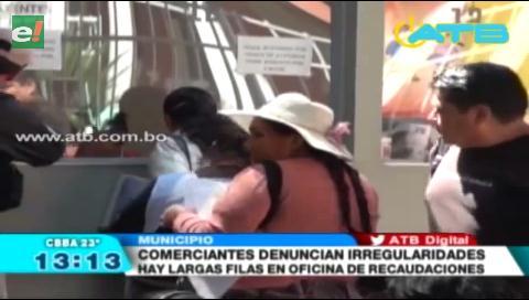 Comerciantes denunciaron irregularidades en la Dirección de Recaudaciones