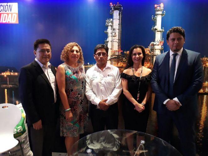 Gonzalo Saavedra, Leyla Cortez, Luis Alberto Poma, Ximena Jimenez y Oscar Barriga