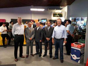 Carlos Diaz, Juan Manuel Arias, Oswaldo Barriga, Ronald Mariscal y Humberto Pinto